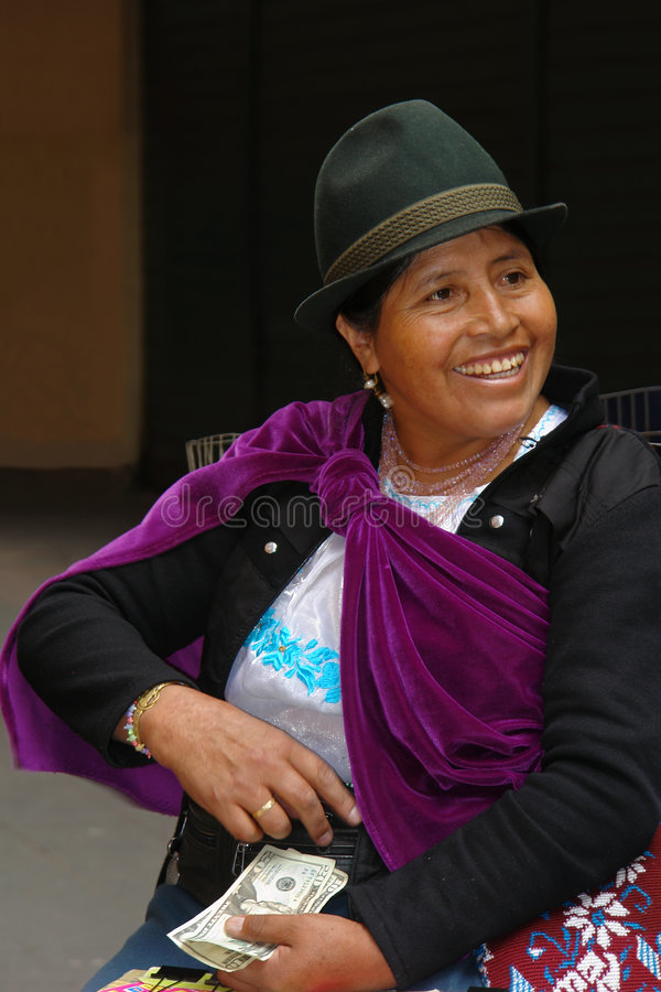 De Latijnse vrouw royalty-vrije stock fotografie
