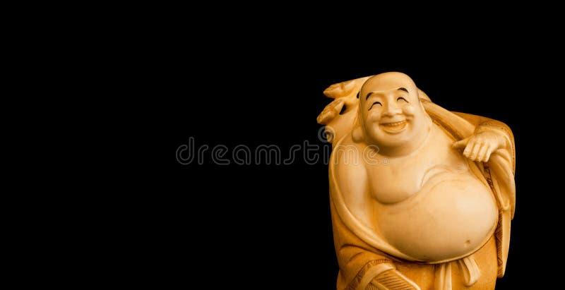 De Laughing Buddha stock afbeelding