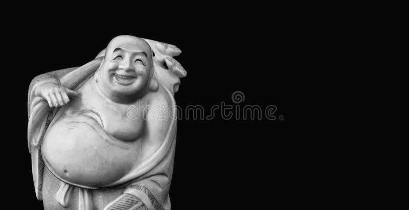 De Laughing Buddha royalty-vrije stock afbeelding
