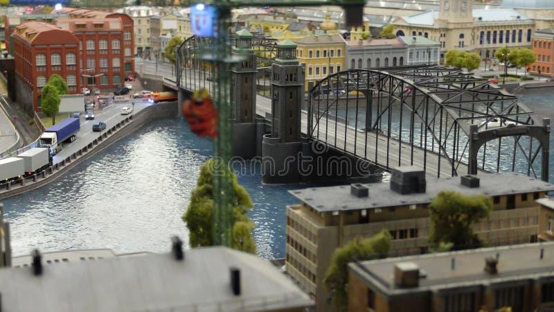 De lay-out van de brug van Peter Groot stock fotografie