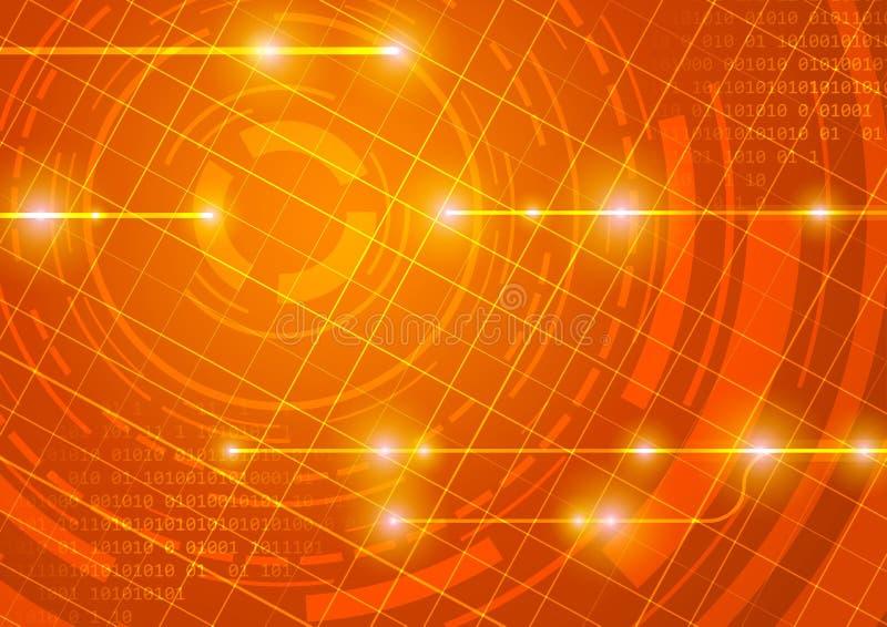 De lay-outachtergrond van Internet - energie vector illustratie