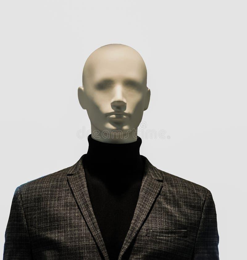 De ledenpop die van de opslagmens kleren dragen royalty-vrije stock fotografie