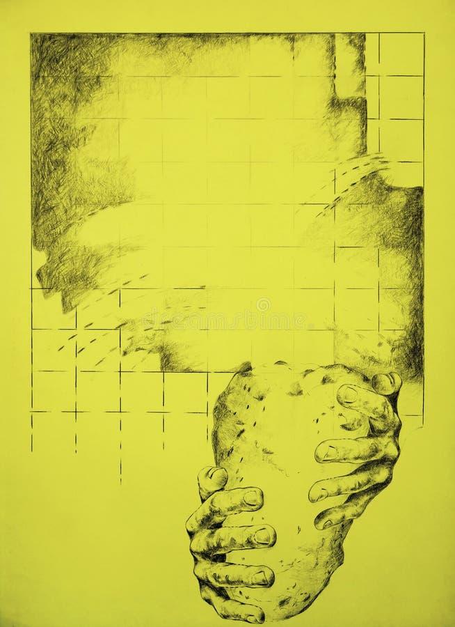 De leeftijd van de steen stock illustratie