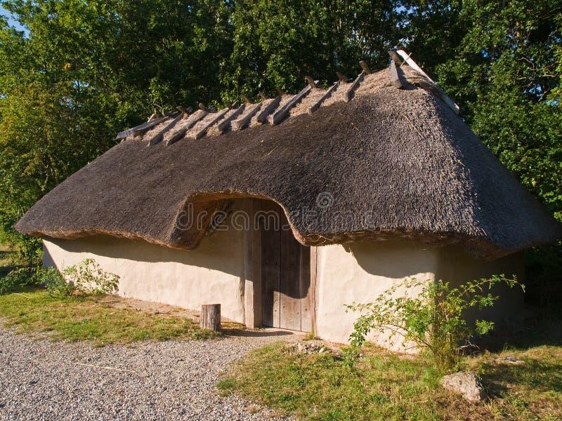 De leeftijdshuis van Viking stock afbeelding