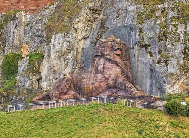 De Leeuw van Belfort, Frankrijk royalty-vrije stock afbeelding
