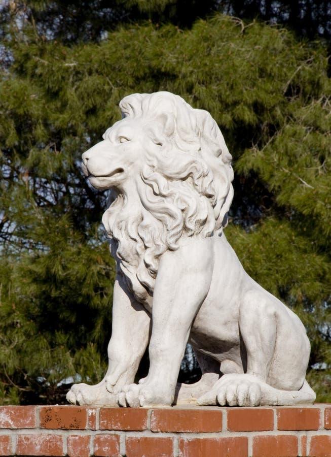 De Leeuw van de steen royalty-vrije stock afbeelding