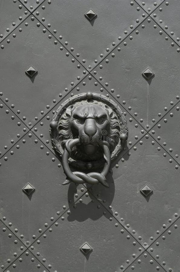 De Leeuw van Dresden stock afbeeldingen