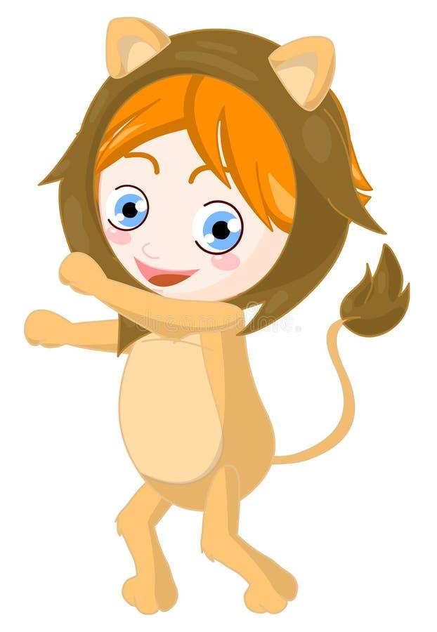 De Leeuw van het kind vector illustratie