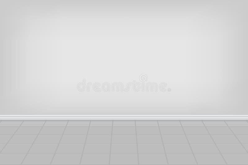 De lege achtergrond van de wasserijruimte Vector illustratie vector illustratie