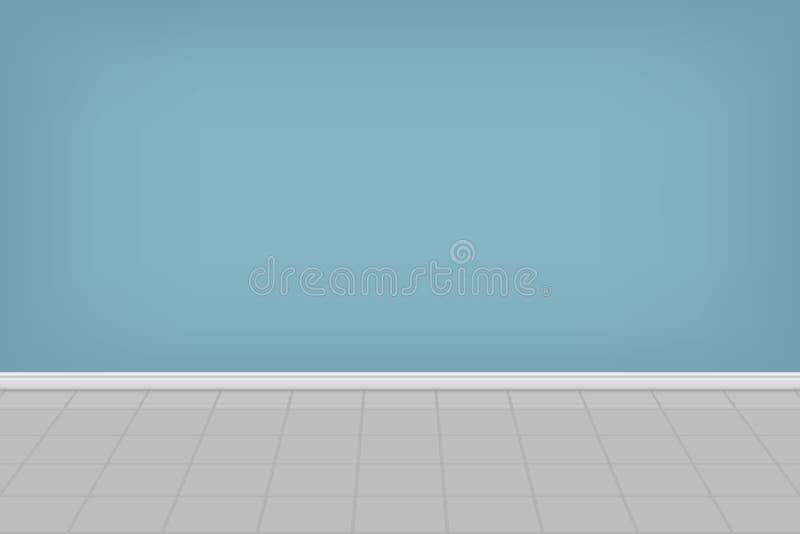 De lege achtergrond van de wasserijruimte Vector illustratie royalty-vrije illustratie