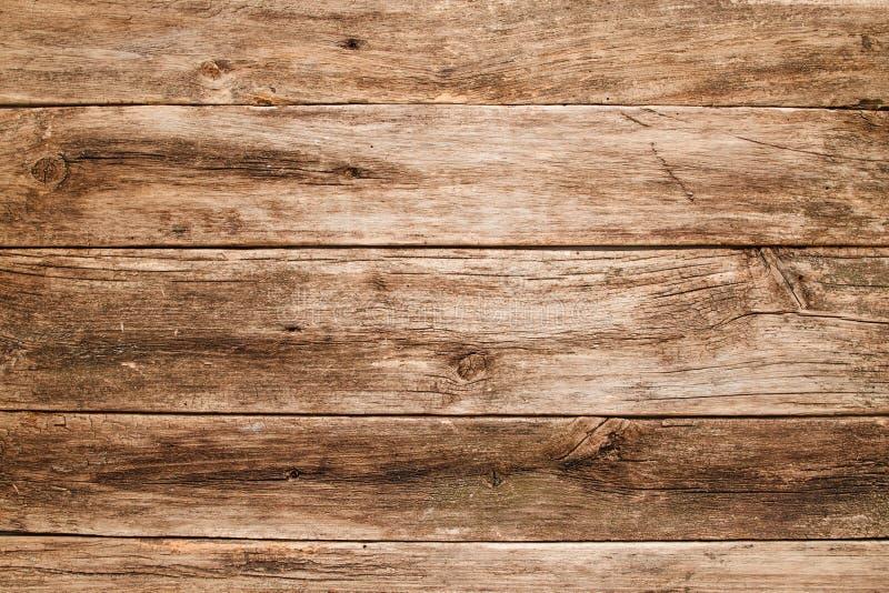 De lege grungy houten lijstvlakte lag royalty-vrije stock afbeeldingen
