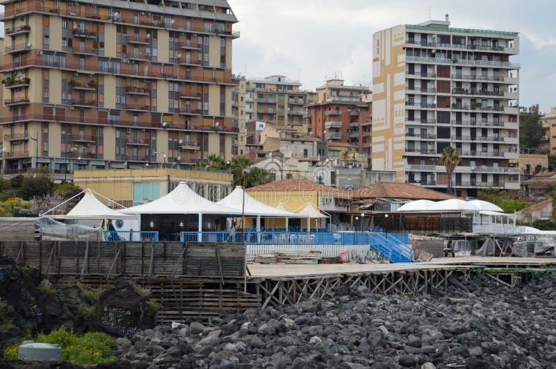 De lege Markt van Vissen royalty-vrije stock afbeelding