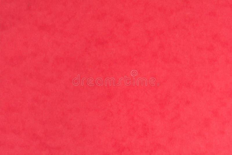 De lege rode gipspleistertextuur als achtergrond, sluit omhoog royalty-vrije stock afbeelding