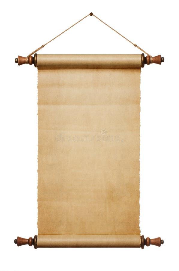 De lege Rol van het Document royalty-vrije stock afbeelding