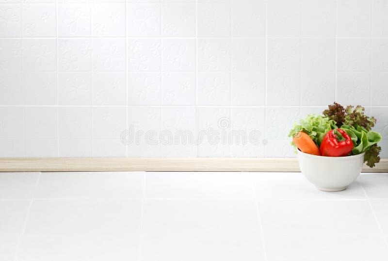 De lege ruimte in de keuken royalty-vrije stock afbeelding