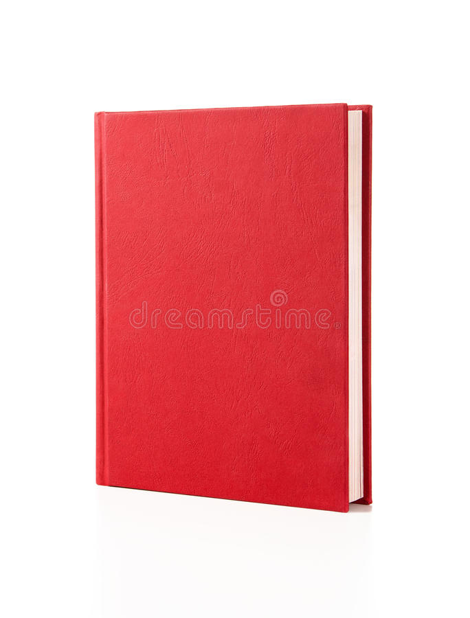 De lege ruimte van het boekexemplaar stock fotografie