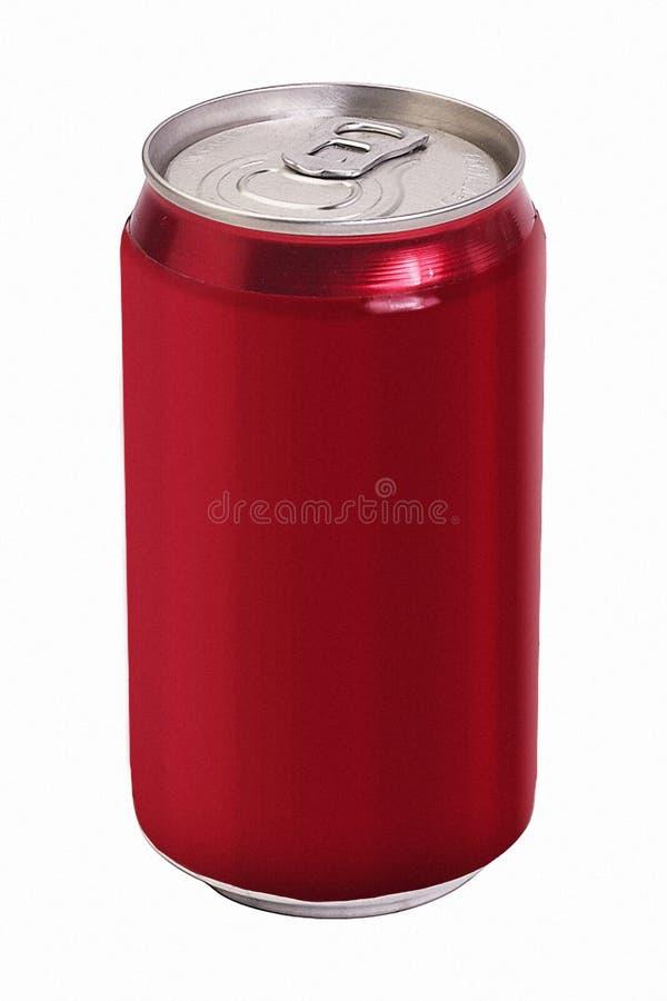 De lege Soda kan royalty-vrije stock fotografie