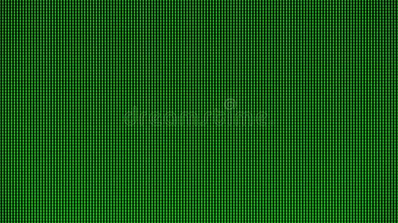 De LEIDENE lichten van de LEIDENE LEIDENE computer van TV of controleren het paneel van de het schermvertoning voor websitemalpla stock afbeelding