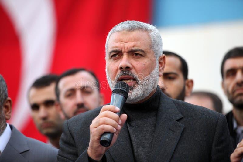 De Leider Ismail Haniyeh van Hamas royalty-vrije stock afbeelding
