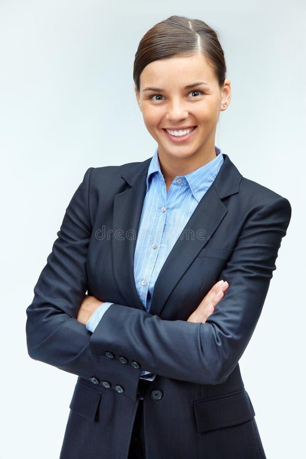 De leider van de vrouw stock fotografie