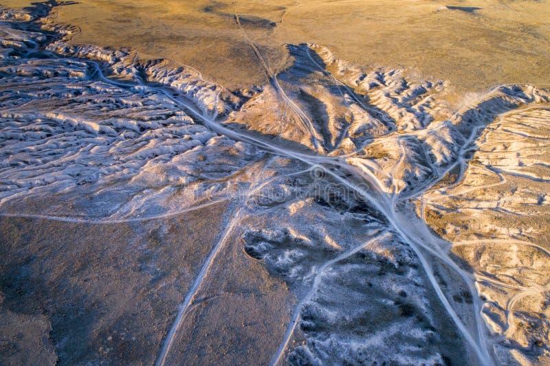Download De Leiding Trekt OHV-Gebied In Noordelijk Colorado Stock Afbeelding - Afbeelding bestaande uit colorado, arroyo: 107700563