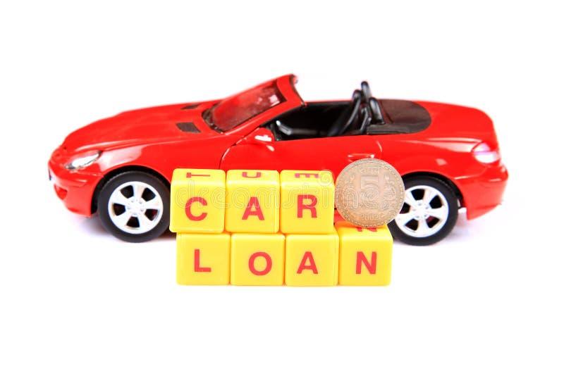 De lening van de auto stock afbeelding