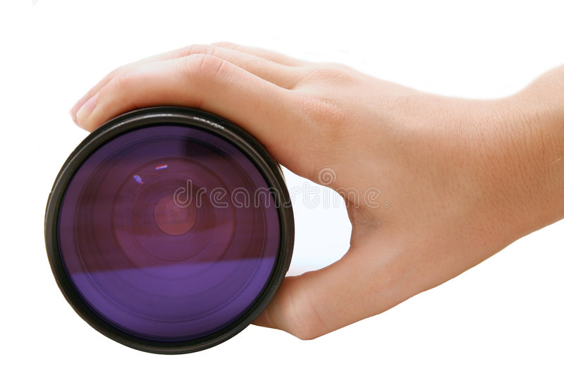 De lens van de camera royalty-vrije stock foto