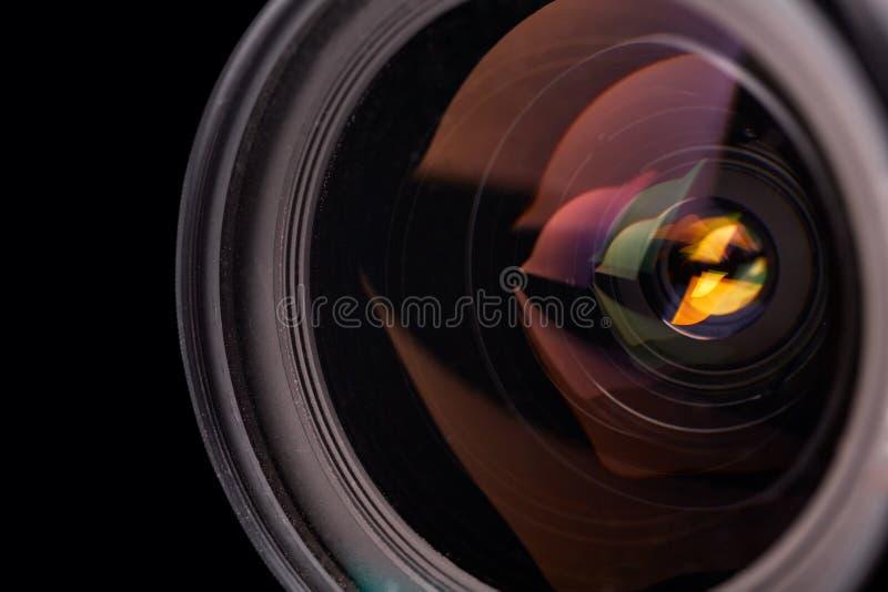 De lens van de camera royalty-vrije stock fotografie