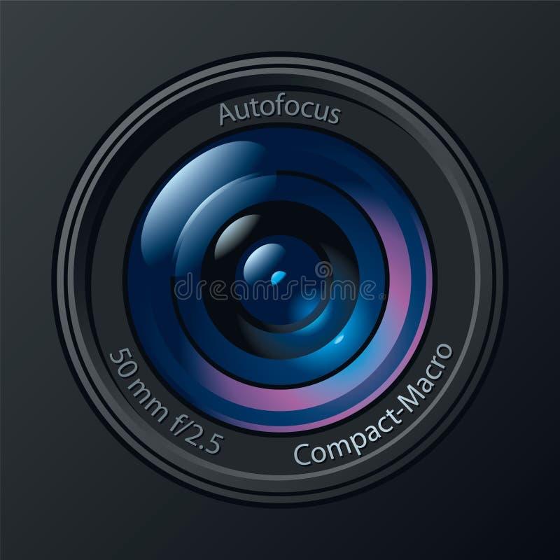 De Lens van de Camera van de foto royalty-vrije illustratie