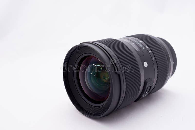 De lens van Dslr royalty-vrije stock foto's