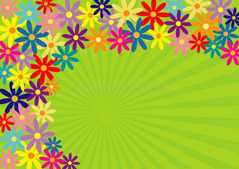 De lente! stock illustratie