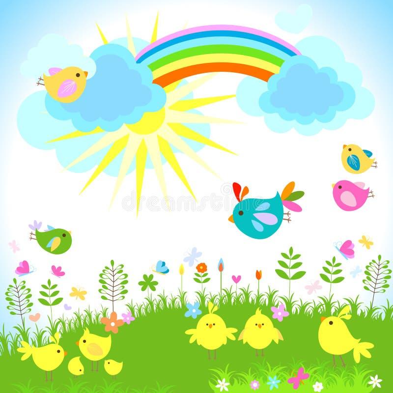De lente stock illustratie