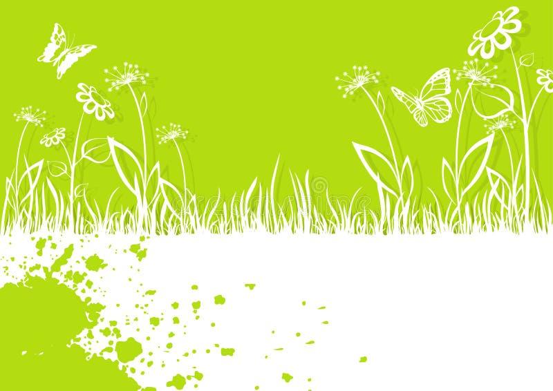De lente Achtergrondillustratie stock illustratie