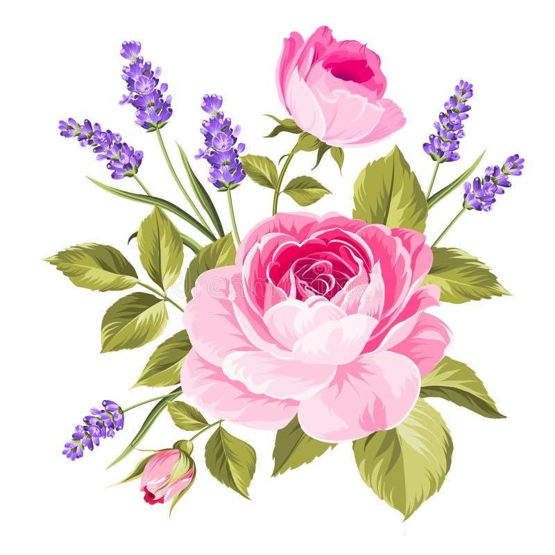 De lente bloeit boeket vector illustratie
