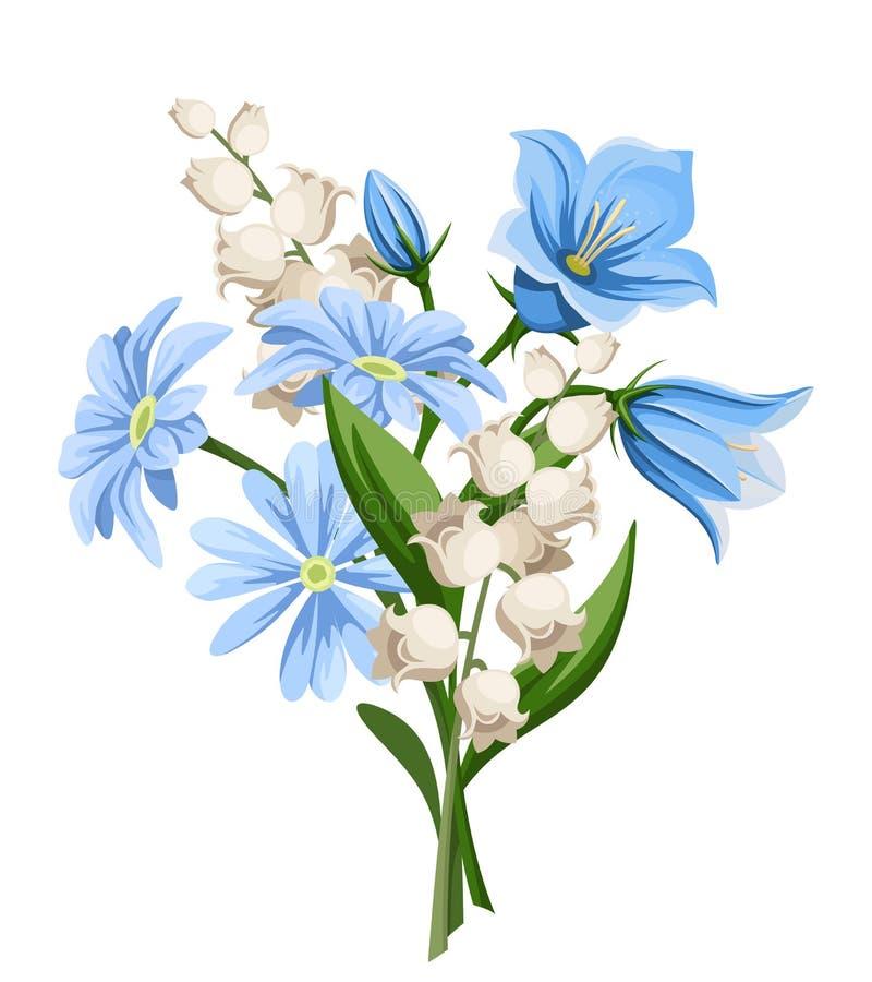 De lente bloeit boeket Vector illustratie royalty-vrije illustratie