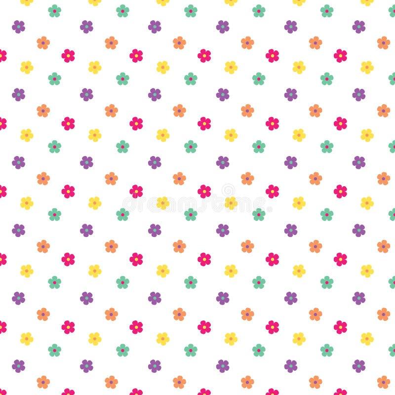 De lente bloeit Patroon stock illustratie