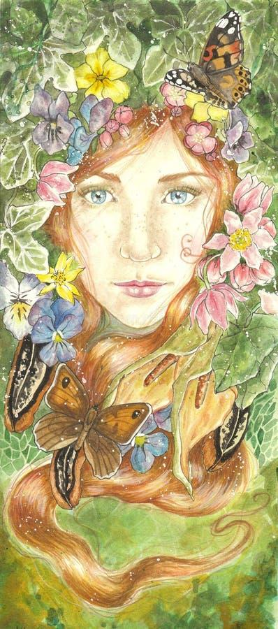 De lente Equinox royalty-vrije illustratie