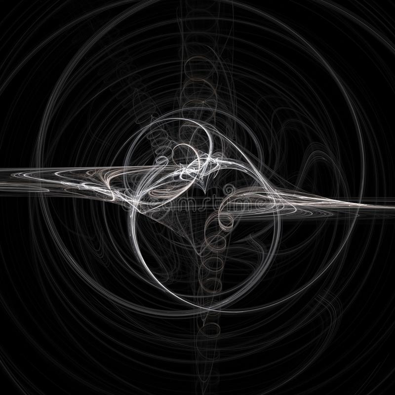 De lente | Fractal Art. royalty-vrije stock foto