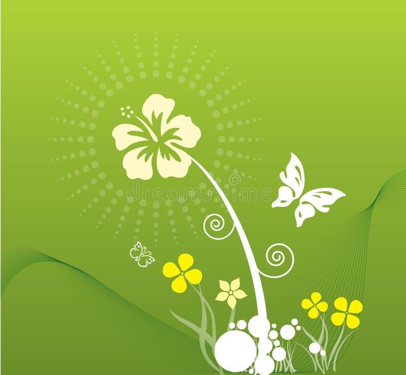 De lente in groen royalty-vrije stock afbeelding