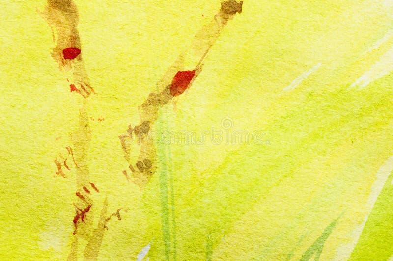 De lente het schilderen stock illustratie