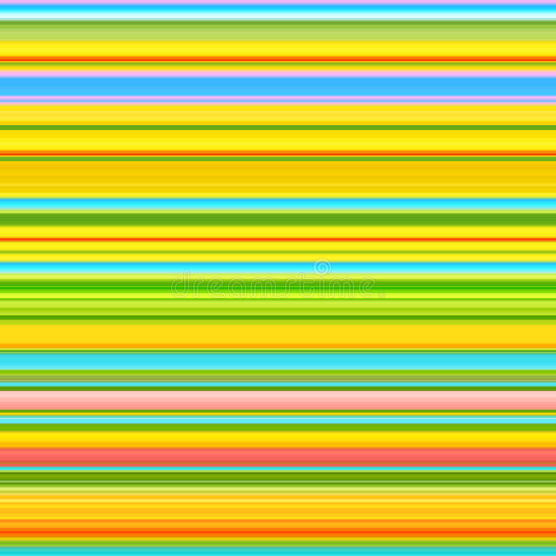 De lente kleurt gestreepte achtergrond Abstracte lijnen Patroon stock illustratie