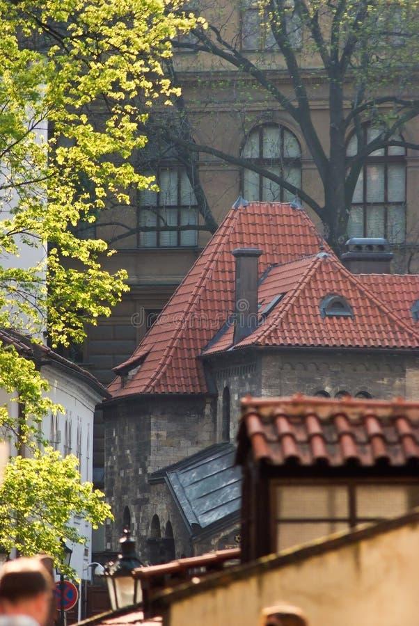 De lente in Praag, Tsjechische Republiek royalty-vrije stock fotografie