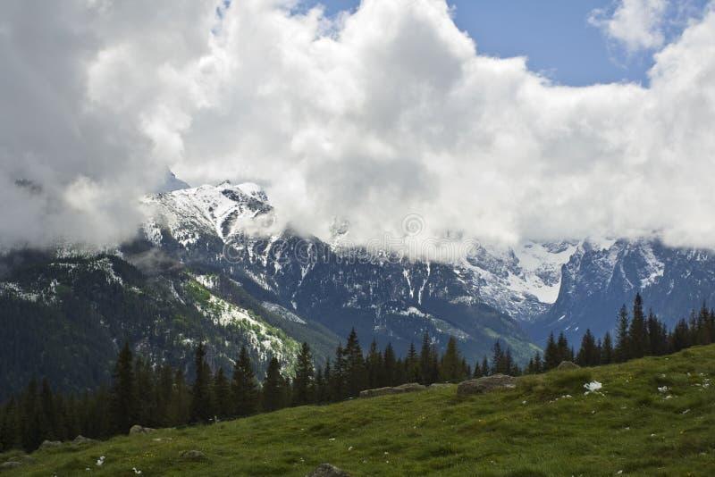 De lente van bergen royalty-vrije stock foto