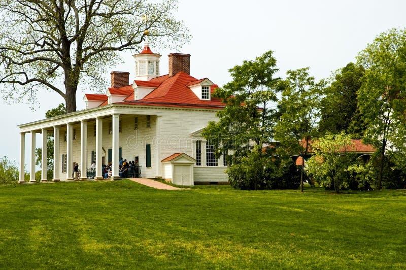 De lente - zet Vernon, Virginia op stock afbeelding