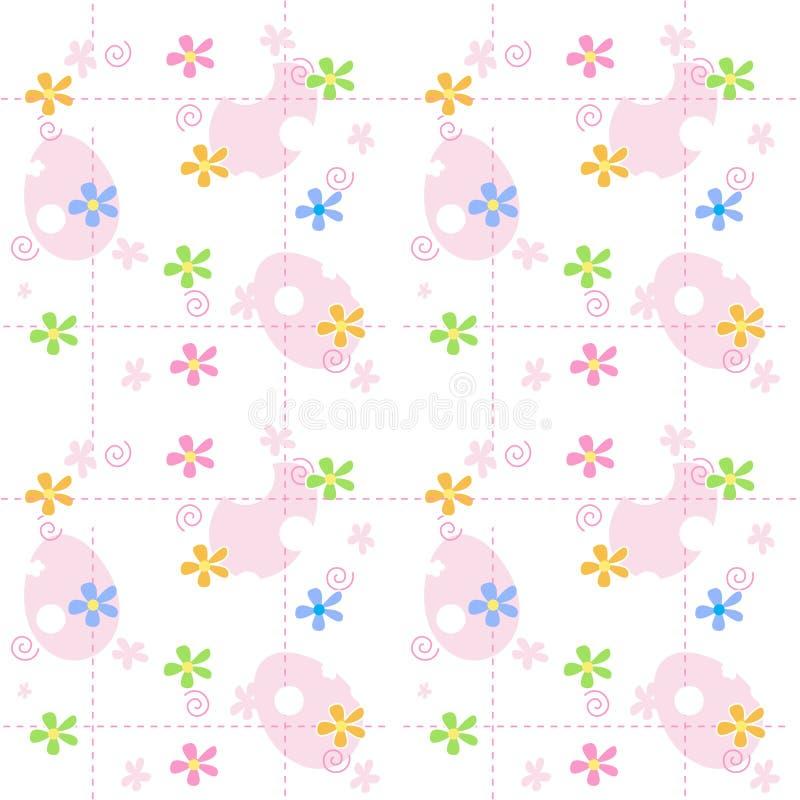 De lenteachtergrond van Pasen