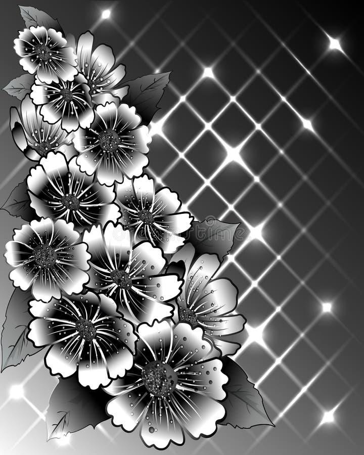 De lentebloemen stock illustratie