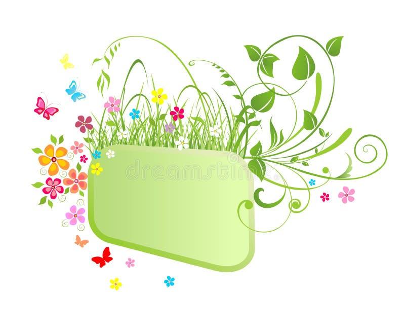 Download De lentekader vector illustratie. Illustratie bestaande uit samenvatting - 54078963