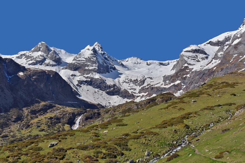 De lentemening van het plateau Maillet royalty-vrije stock foto