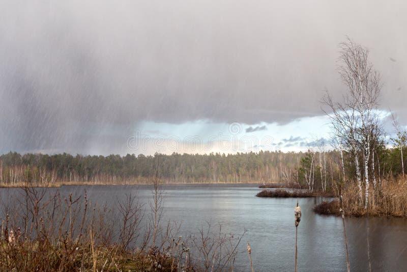 De lenteonweer stock fotografie