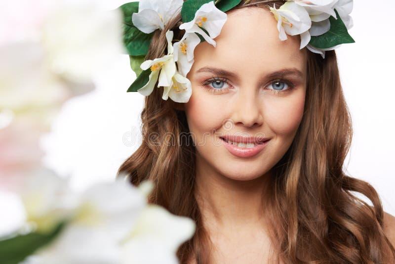 De lenteportret stock afbeelding